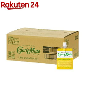 カロリーメイト ゼリー ライム&グレープフルーツ味(215g*6コ入*4セット)【o9c】【カロリーメイト】