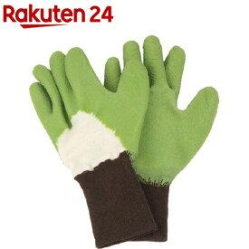 セフティー3 トゲがささりにくい手袋 GR グリーン S(1組)【セフティー3】