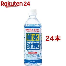 五洲薬品 補水対策 ORwater H(500ml*24本セット)