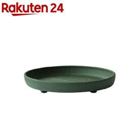 植木鉢 パピエ エコプレート丸型 7号 GR(1コ入)