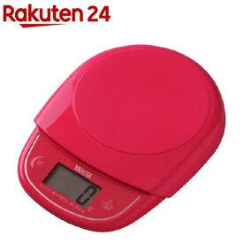 タニタ デジタルクッキングスケール ピンク KD-313-PK(1台)【タニタ(TANITA)】