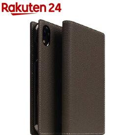 SLG iPhone XR フルグレインレザーケース エトフクリーム SD13671i61(1個)【SLG Design(エスエルジーデザイン)】