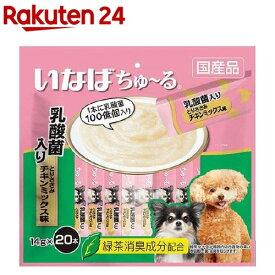 いなば 犬用ちゅ〜る 乳酸菌入り とりささみ チキンミックス味(14g*20本入)【dalc_churu】【ちゅ〜る】