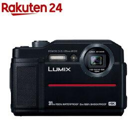 パナソニック コンパクトデジタルカメラ DC-FT7 ブラック(1台)【パナソニック】