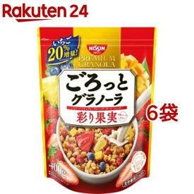 日清シスコ ごろっとグラノーラ 彩り果実(400g*6袋セット)