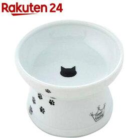 猫壱 ハッピーダイニング 脚付フードボウル 猫柄 シリコン付き(1個)【猫壱】