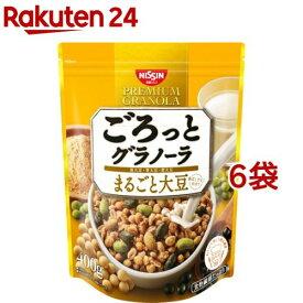 日清シスコ ごろっとグラノーラ まるごと大豆(400g*6袋セット)