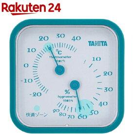 タニタ 温湿度計 ブルー TT-557-BL(1コ入)【タニタ(TANITA)】