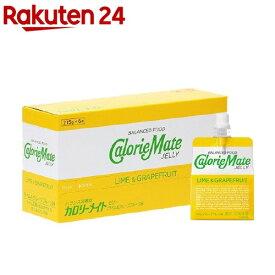 カロリーメイト ゼリー ライム&グレープフルーツ味(215g*6袋入)【o9c】【カロリーメイト】