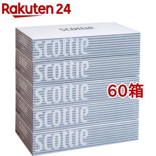 スコッティティシュー(400枚(200組)*5箱パック*12コセット)【スコッティ(SCOTTIE)】