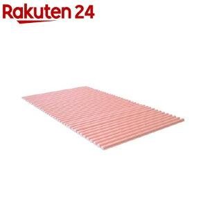風呂ふた カラフル カラーウェーブ L12 75*120cm用 ピンク(1本入)