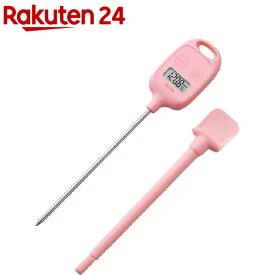 タニタ デジタル温度計 ピンク TT-583-PK(1台)【タニタ(TANITA)】