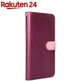 ハンスマレ iPhone 11 CALF Diary ワインピンク HAN16773i61R(1個)【ハンスマレ(HANSMARE)】