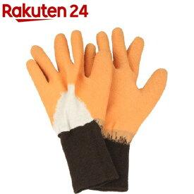 セフティー3 トゲがささりにくい手袋 OR オレンジ M(1組)【セフティー3】