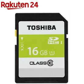 東芝 SDHCカード 16GB UHS-I SDAR40N16G(1コ入)【東芝(TOSHIBA)】