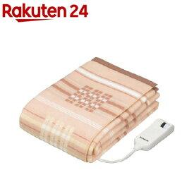 パナソニック 電気かけしき毛布 シングルLサイズ オレンジ DB-R40L-D(1枚入)