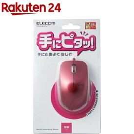 エレコム マウス 有線 サイドラバー 3ボタン 2000dpi レッド M-BL27UBRD(1個)【エレコム(ELECOM)】