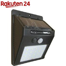 ソーラー電池付人感検知LED LED-SOL-200(1台)