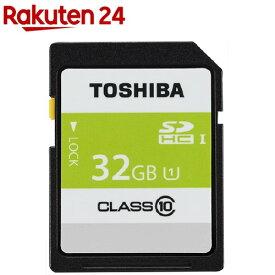 東芝 SDHCカード 32GB UHS-I SDAR40N32G(1コ入)【東芝(TOSHIBA)】
