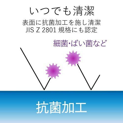 エレコムマウスパッドローマ字入力抗菌加工XLサイズブルーMP-ROMBG