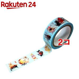 マスキングテープ 猫の音楽隊 CT346(1コ入*2コセット)