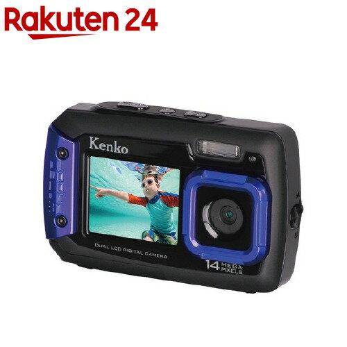 ケンコー デジタル防水カメラDSC1480DW(1セット)