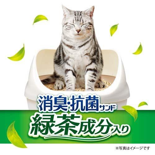 デオトイレ飛び散らない緑茶成分入り消臭サンド
