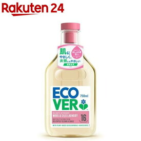 エコベール デリケートウォッシュ おしゃれ着用洗剤(750ml)【エコベール(ECOVER)】