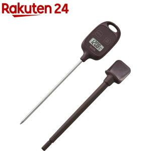 タニタ デジタル温度計 ブラウン TT-583-BR(1台)【タニタ(TANITA)】