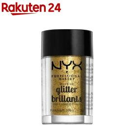 フェイス&ボディ グリッター 05 カラー・ゴールド(2.5g)【NYX Professional Makeup】[ニックス プロフェッショナル メイクアップ]