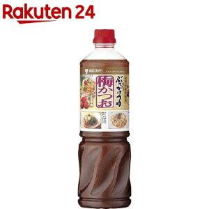 ミツカン ぶっかけつゆ 梅かつお 業務用(1.1kg)