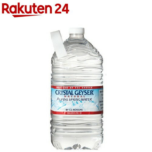 クリスタルガイザー ガロンサイズ(3.78L*6本入)【クリスタルガイザー(Crystal Geyser)】[ミネラルウォーター 大容量 水]