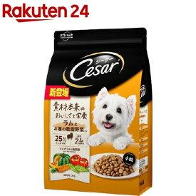 シーザー ドライ 成犬用 ラムと4種の農園野菜入り 小粒(3kg)【シーザー(ドッグフード)(Cesar)】