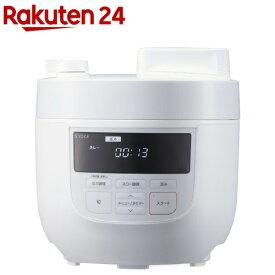 シロカ 電気圧力鍋 4L SP-4D151 ホワイト(1台)【シロカ(siroca)】