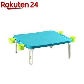 バタフライ レジャーテーブル 角型 ブルー(1コ入)