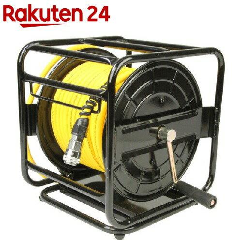 SK11 エアホースリール セーフティソフト 回転台付 30m SAR-030SS(1コ入)【SK11】