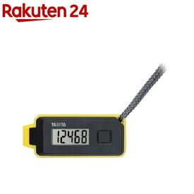 タニタ 3Dセンサー搭載歩数計歩イッスル ブラック FB-738-BK(1コ入)【タニタ(TANITA)】