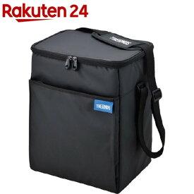 サーモス ソフトクーラー 15L ブラック REQ-015 BK(1個)【サーモス(THERMOS)】[クーラーボックス]