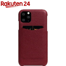 SLG iPhone 11 Pro Full Grain Leather Back Case バーガンディローズ SD17880i58R(1個)【SLG Design(エスエルジーデザイン)】