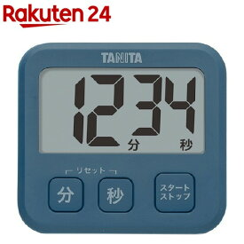 タニタ 薄型タイマー ブルー TD-408-BL(1コ入)【タニタ(TANITA)】