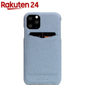 SLG Design iPhone 11 Pro Full Grain Leather Back Case パウダーブルー SD17881i58R(1個)【SLG Design(エスエルジーデザイン)】