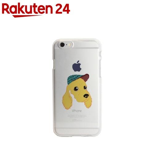 ディーパークスiPhone6/6Sソフトクリアケースコッカー・スパニエルDS6681iP6S