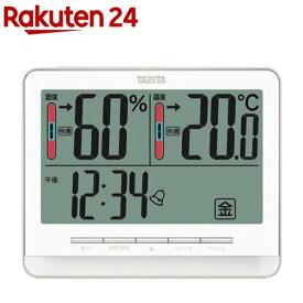 タニタ デジタル温湿度計 ホワイト TT-538-WH(1台)【タニタ(TANITA)】