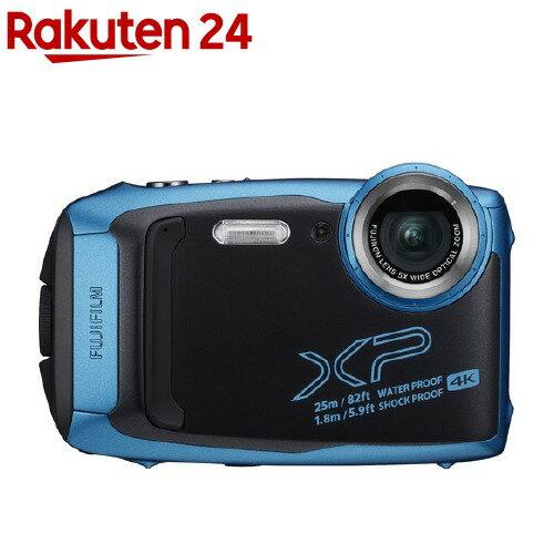 富士フイルムデジタルカメラFinePixXP140SBスカイブルー
