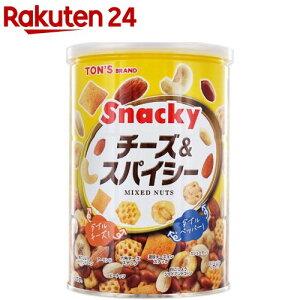 東洋ナッツ食品 チーズ&スパイシー 缶(300g)【TON'S】