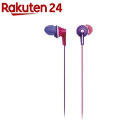 ステレオインサイドホン ピンク/バイオレット RP-HJE165-Z(1コ入)