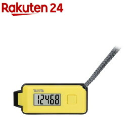 タニタ 3Dセンサー搭載歩数計歩イッスル イエロー FB-738-YL(1コ入)【タニタ(TANITA)】