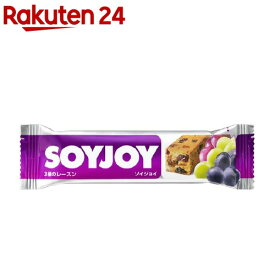SOYJOY(ソイジョイ) 3種のレーズン(30g*12本入)【SOYJOY(ソイジョイ)】
