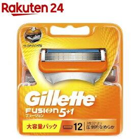 ジレット フュージョン5+1 替刃12B(12コ入)【cga09】【rank】【ジレット】