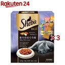 シーバ デュオ 香りのまぐろ味セレクション(20g*12袋入*3箱)【d_sheba】【シーバ(Sheba)】